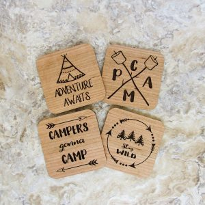 Camping Adventure Awaits Stay Wild Coaster Set