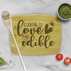 Cooking is Love Made Edible Gift Set
