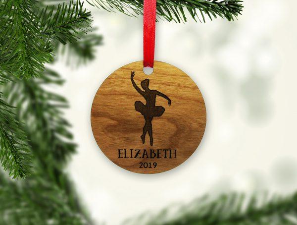 Dancer Name Year Circle Ornament