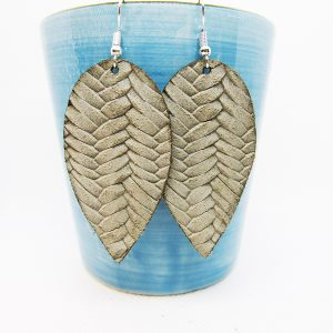 Teardrop Petal Fishtail Earrings