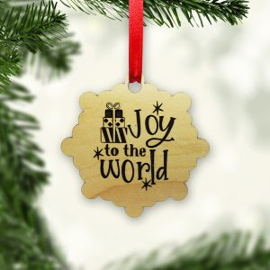 Joy To The World Gifts Stars Ornament
