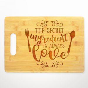 secret-ingredient-is-always-love-cutting-board
