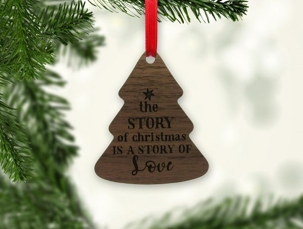 The Story of Christmas Tree Ornament