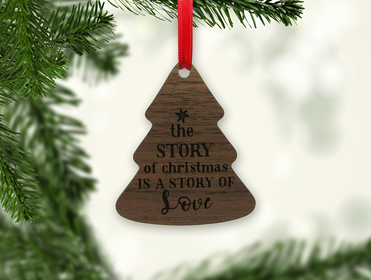 The Story of Christmas Tree Ornament Stock 1 JSD
