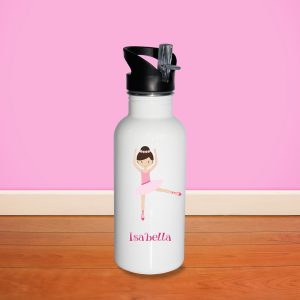 Ballerina Dancer Water Bottle