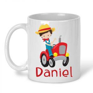 Happy Farm Boy or Girl Mug
