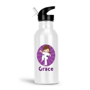 karate-kid-girl-knee-raised-water-bottle