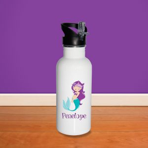 Mermaid Side Fin Water Bottle