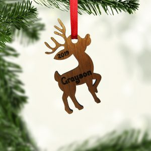 Reindeer Standing Tall Ornament