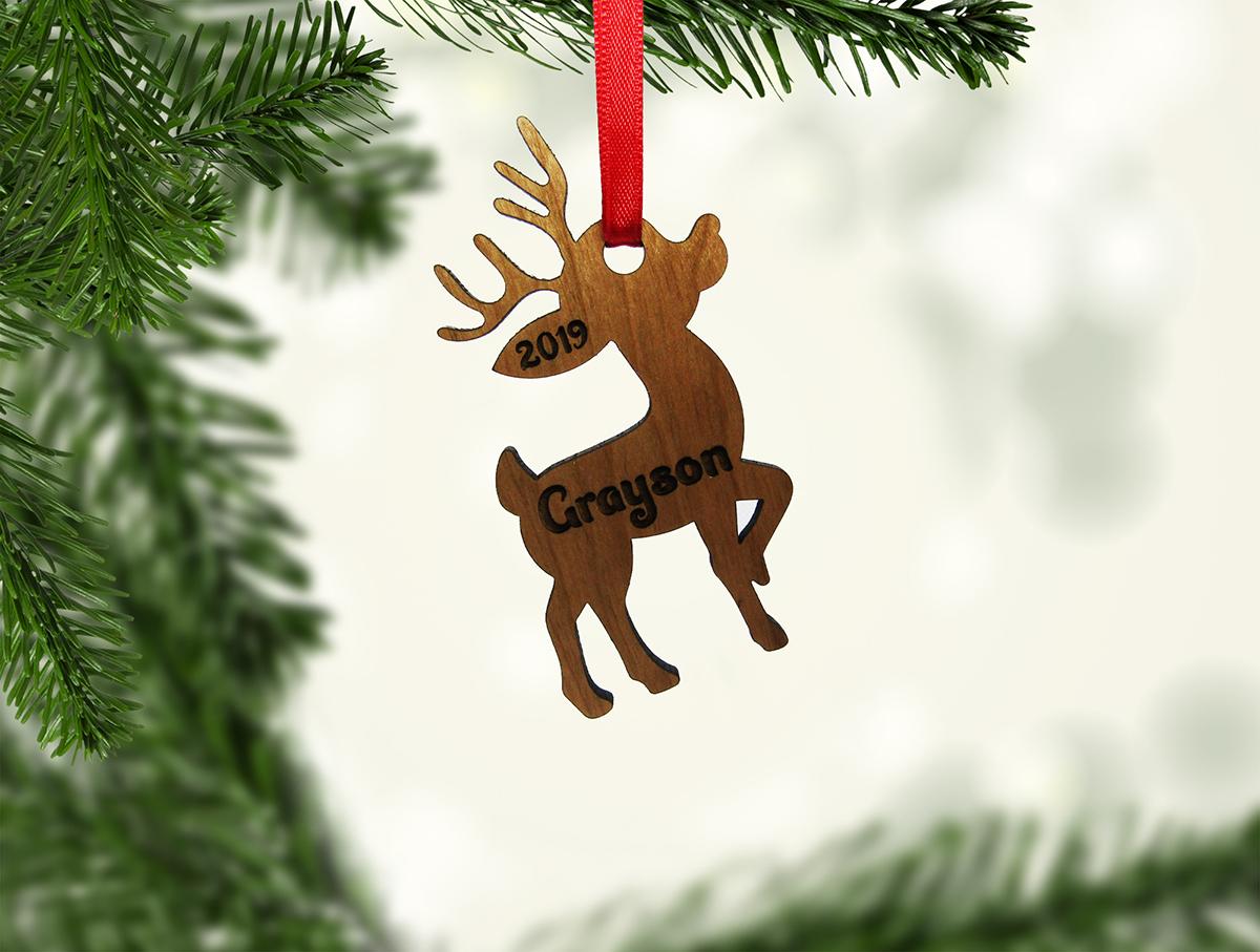 Reindeer Standing Tall Ornament