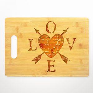 love-heart-arrows-cutting-board