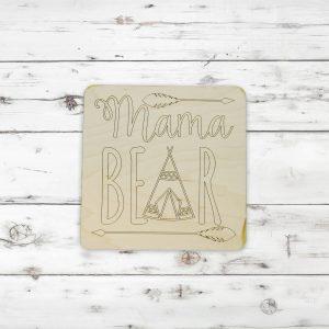 Mama Bear Arrows Teepee Kids Craft Kit
