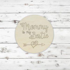 Mommy is My Bestie Heart Arrow Kids Craft Kit