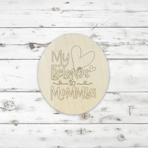 My Heart Belongs to Mommy Kids Craft Kit