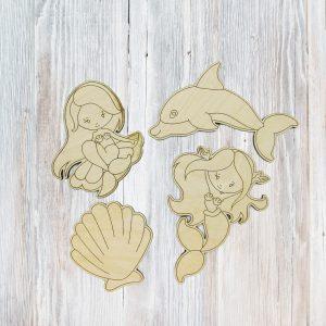 Mermaid Vibes Mermaids Kids Craft Kit