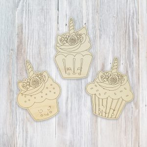 Unicorn Cupcakes Kids Craft Kit