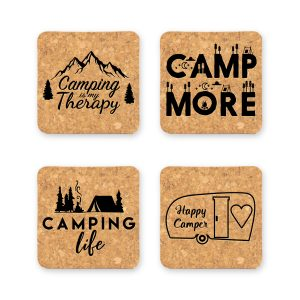 camping-life-quotes-cork-coasters
