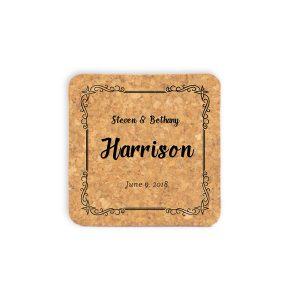full-name-date-decorative-frame-cork-coasters