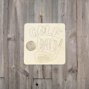 Golf Dad Square Kids Craft Kit