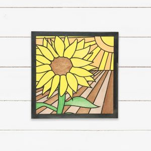 Sunflower Painting DIY Sign Kit