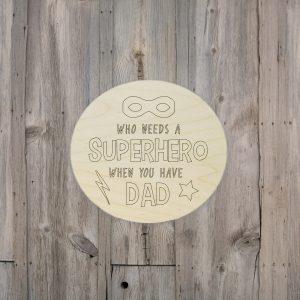 Who Needs a Superhero Kids Craft Kit