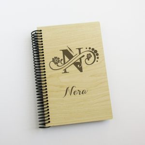 floral-dot-monogram-name-journal