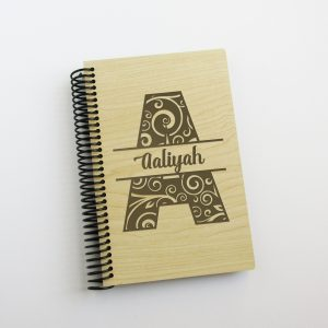 swirl-letter-monogram-name-journal