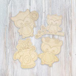 spring-owls-flowers-kids-craft-kit