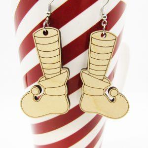 chistmas-elf-shoes-earrings