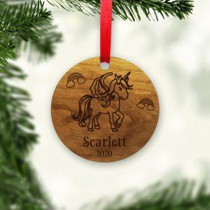 unicorn-rainbow-wood-ornament