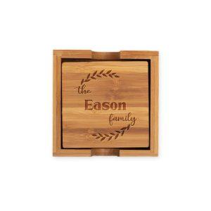 monogram-bamboo-coasters