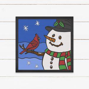 snowman-paint-kit
