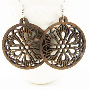 mandala-circle-boho-flower-earrings