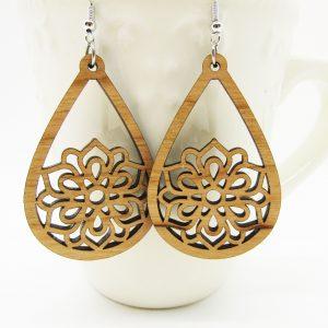 mandala-teardrop-flower-earrings