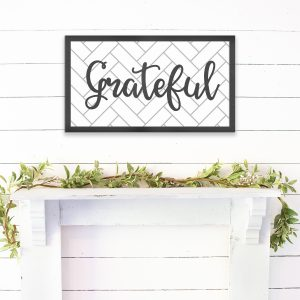 Grateful-sign