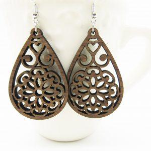 mandala-teardrop-heart-floral-earrings